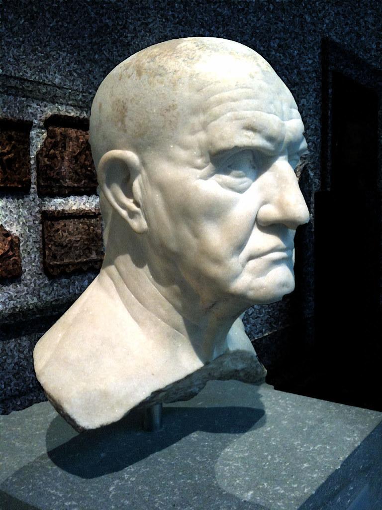 Portrait Bust Of A Man 1st Century B C Portrait Bust