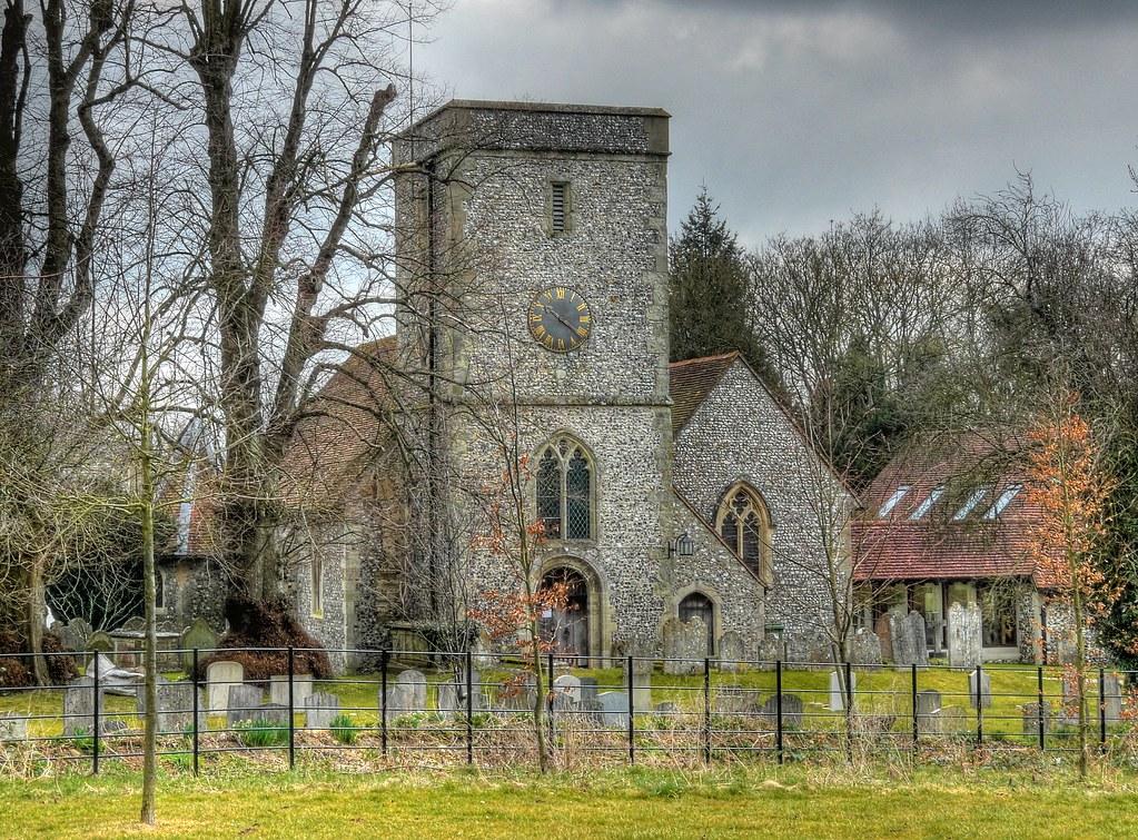 St Mary S Parish Church Kings Worthy Hampshire The