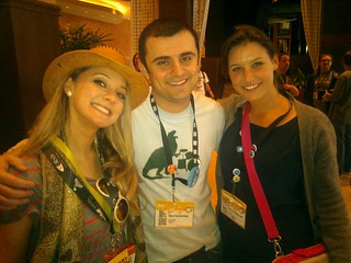 Giving @garyvee the opportunity to namedrop. w/ @hermioneway #sxsw | by themarlooz