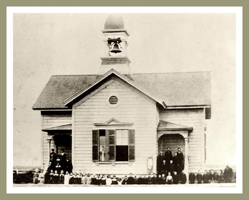 First Schoolhouse Norwalk Ca Late 1800 S The Area S