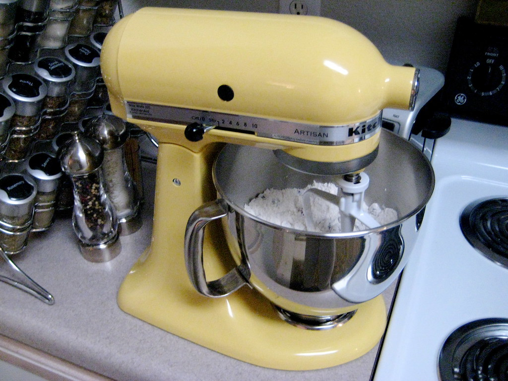 ... Majestic Yellow KitchenAid Mixer U003c3 | By Jibay