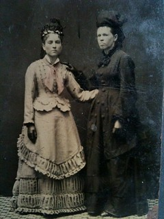 Two ladies tintype | by smokey lace