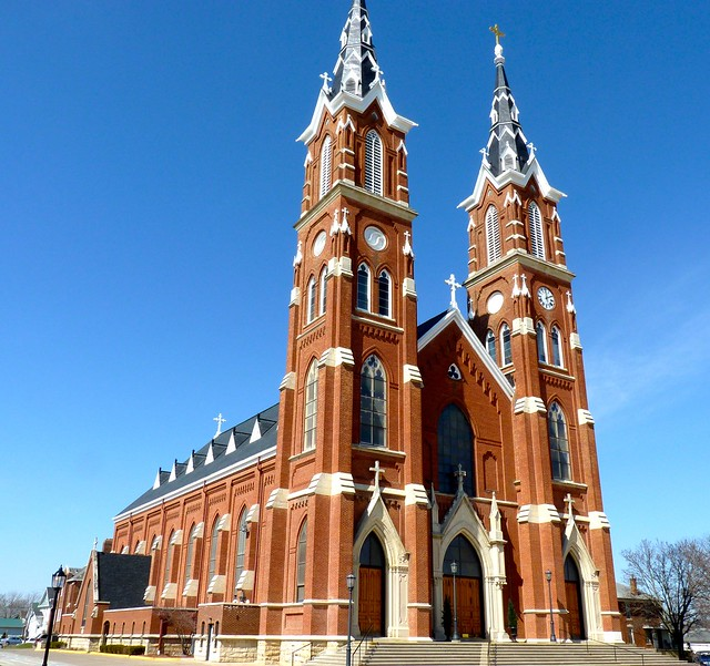 Dyersville (IA) United States  city photo : Dyersville, IA basilica, 1889 | Flickr Photo Sharing!