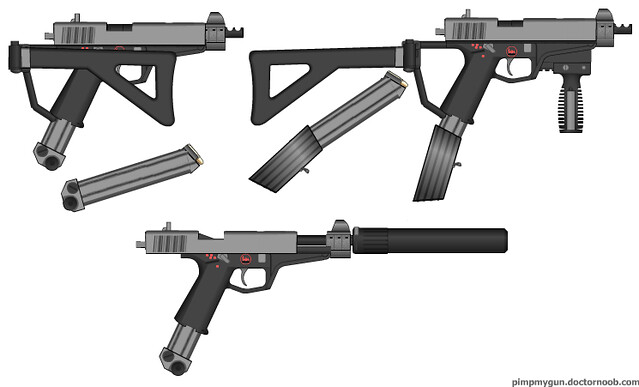 Get Free Credit Report >> h&k mp-21a2 5.7x28 mm machine pistol   credit duke to the ...