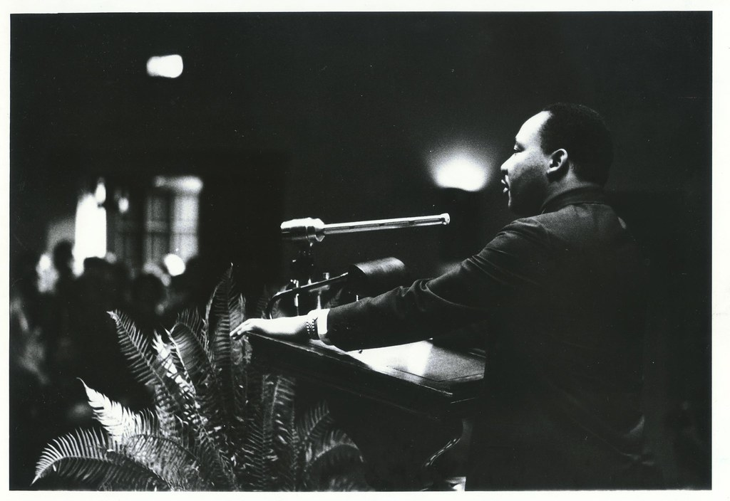 Dr. Martin Luther King Jr., 13 November 1964 at Duke University