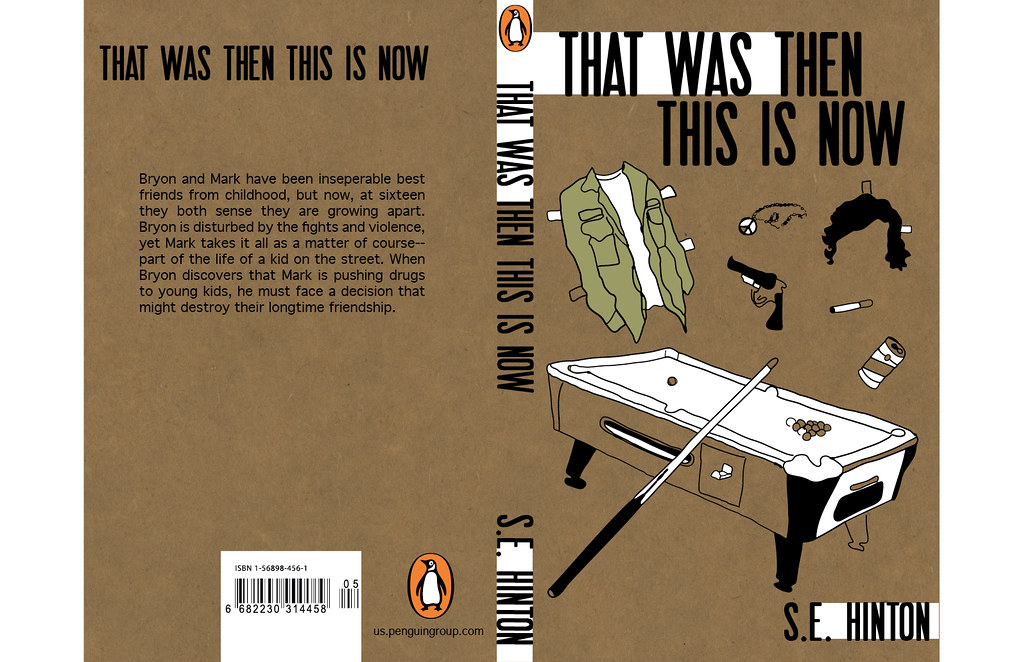 that was then this is now book