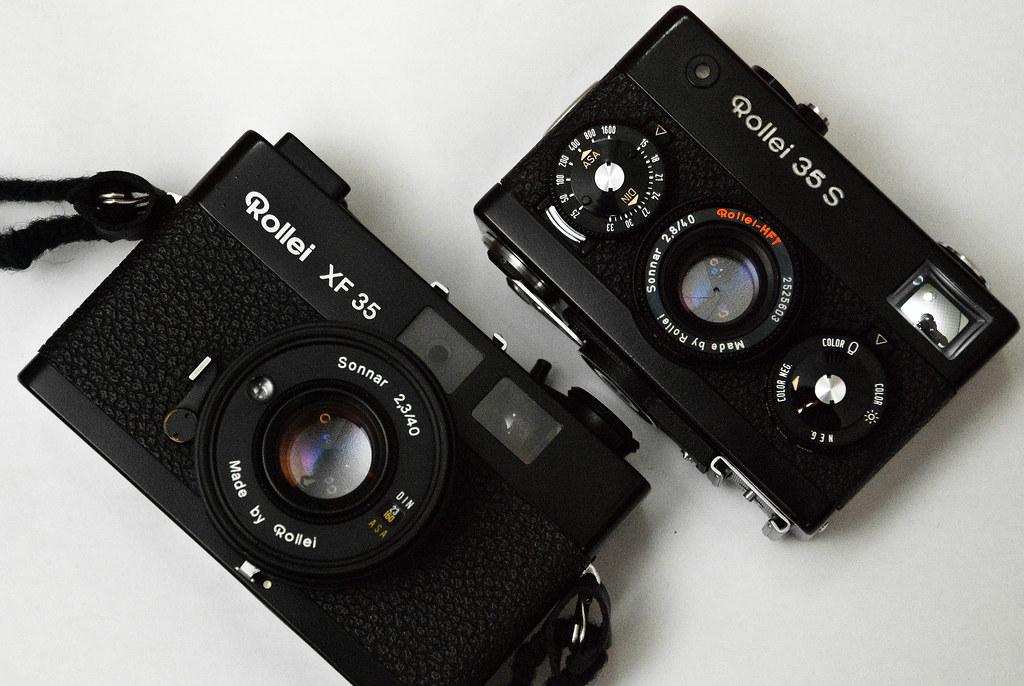 Rollei 35s & Rollei XF35   Rollei 兄弟   kukinis   Flickr