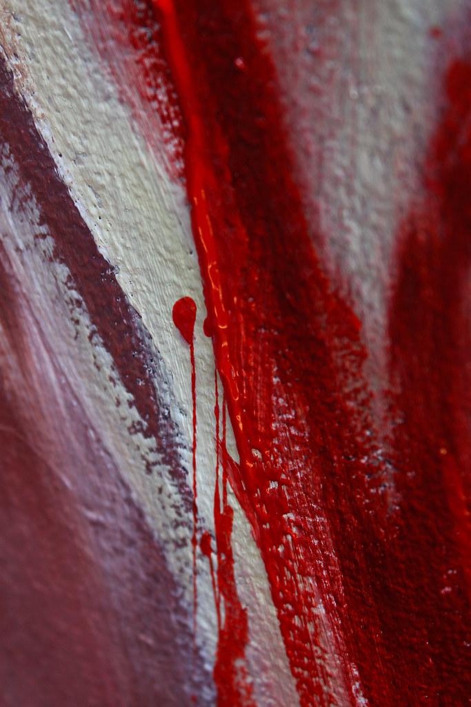 Acrylic Spray Paint Bubble Crackles