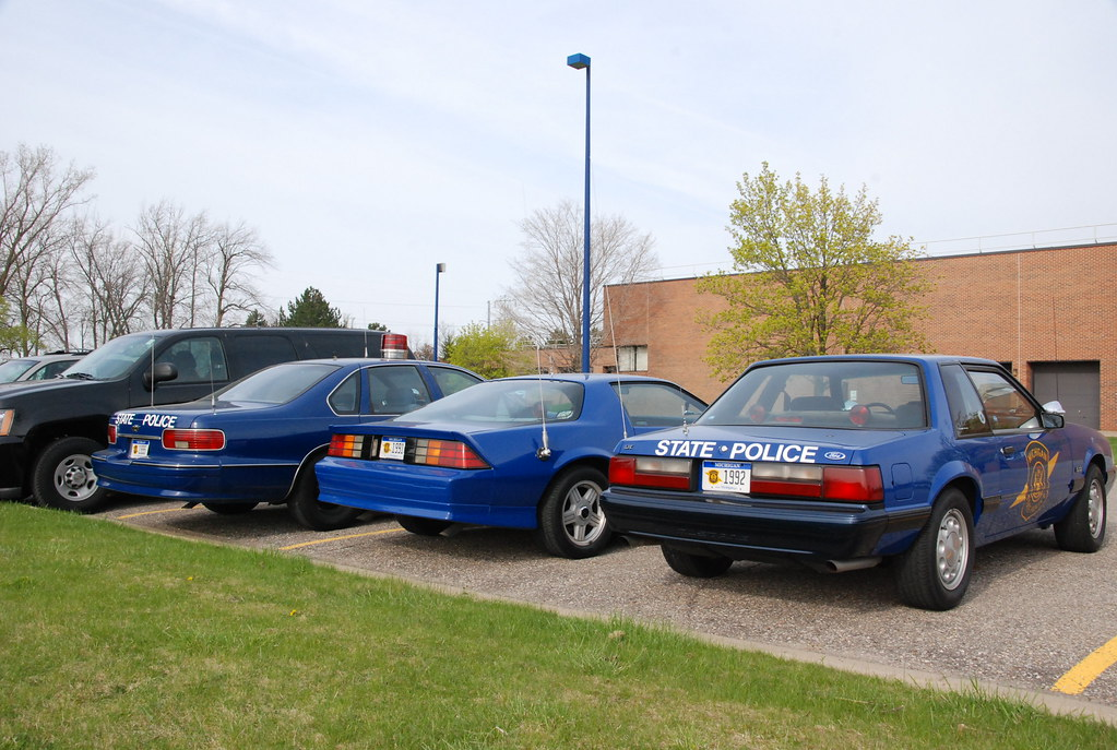 Michigan State Police cars  1992 Ford Mustang 50 1991   Flickr