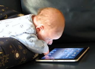 Baby Sees The iPad Magic | by SteveChippy
