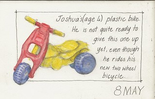 08May10 plastic tricycle and Illustration Friday : Transportation | by alissa duke