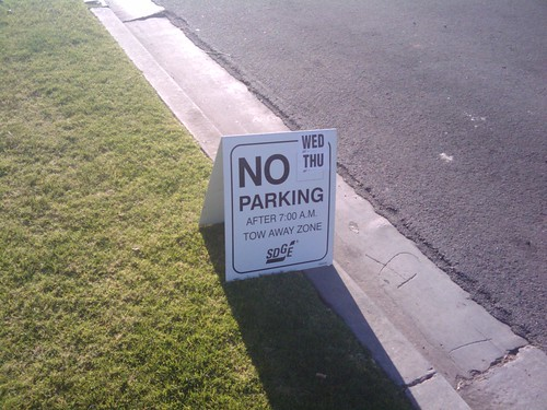 No Parking | by dirtyblueshirt