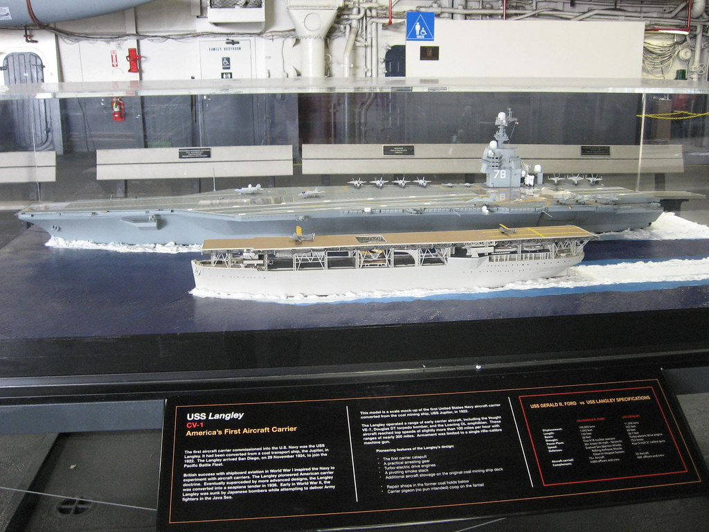 Uss Langley And Uss Gerald R Ford Our First And Our New