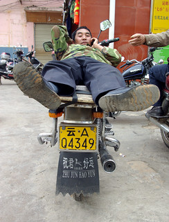 Moto Taxi, Yunnan China | by The Hungry Cyclist