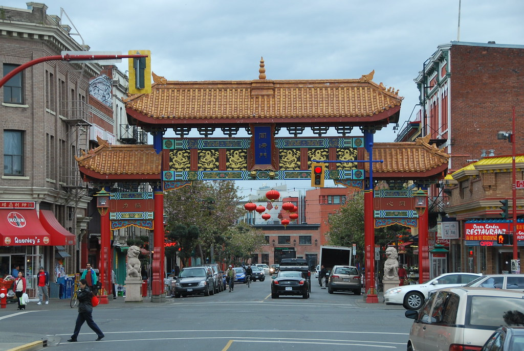 Vancouver Island Victoria China Town
