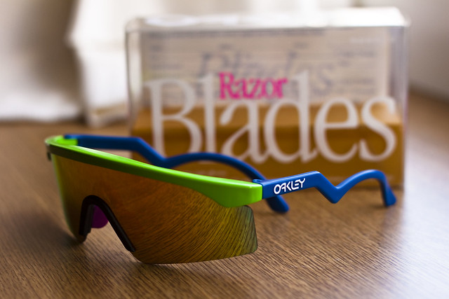 3ef2c4b51a4 Are Oakley Razor Blades Customisable