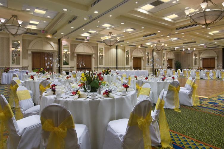 The Hilton Naples Hotel Ballroom