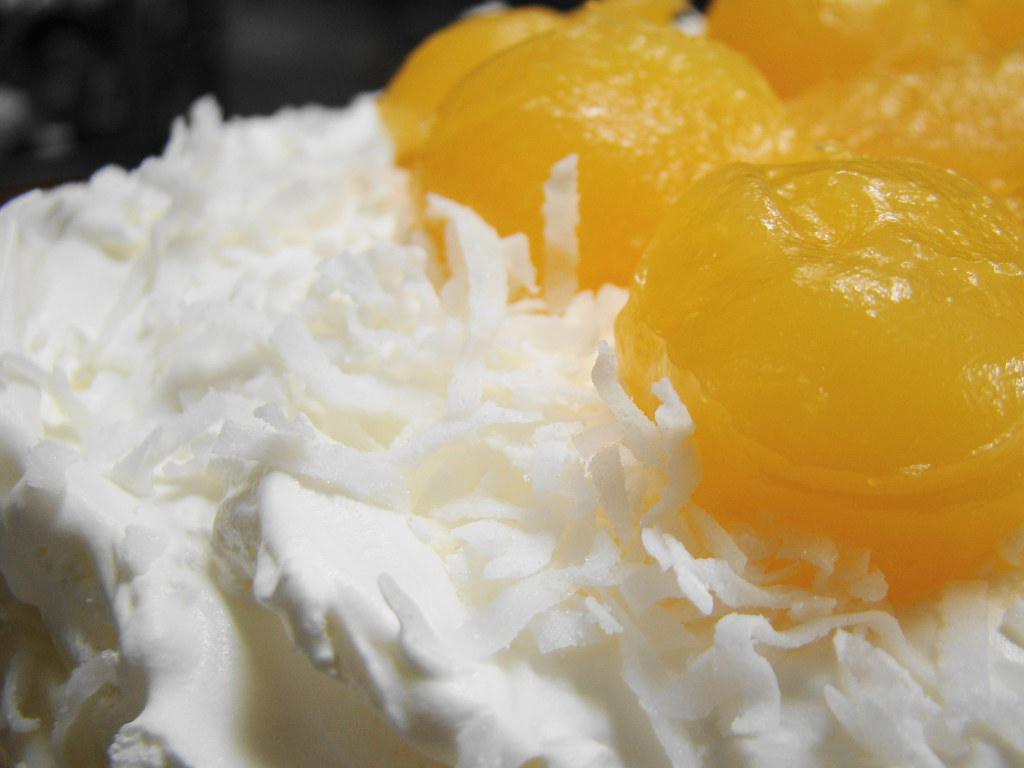 Coconut Cake With Cream Cheese Frosting Recipe