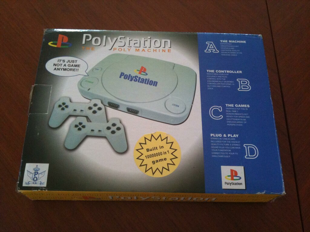 Polystation Famiclone Packaging The Polystation A