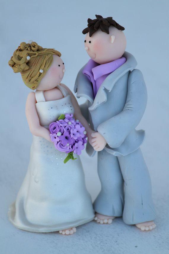 Tortenfiguren Brautpaar Fur Hochzeitstorte Www Suess Und S Flickr