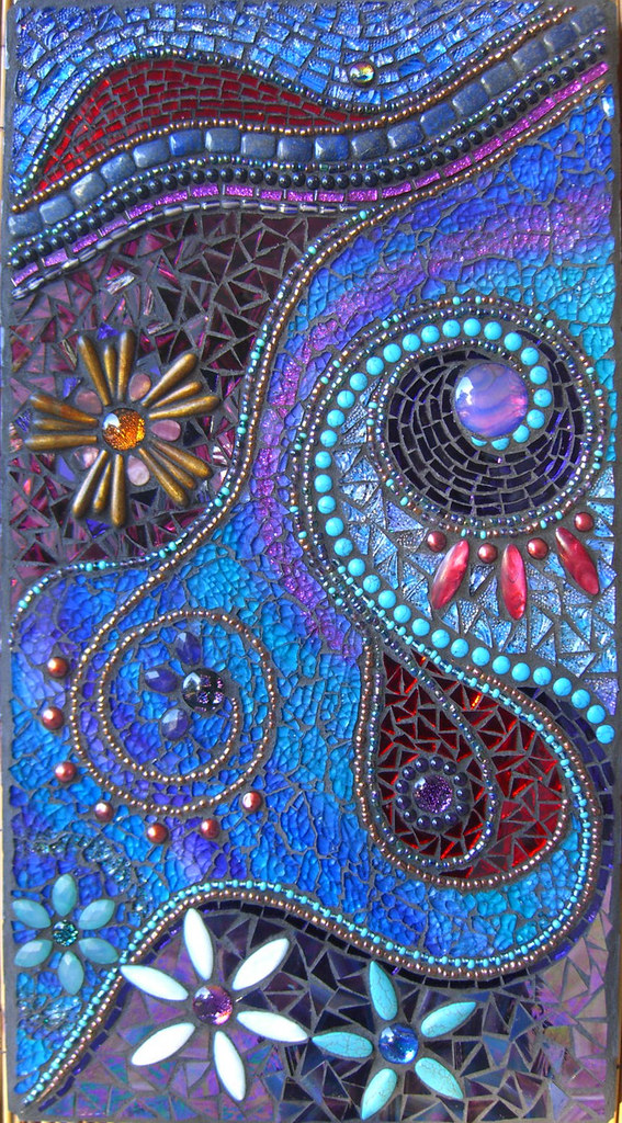 Twilight dreams oodles of gemstones incorporated into for Drawing mosaic pictures