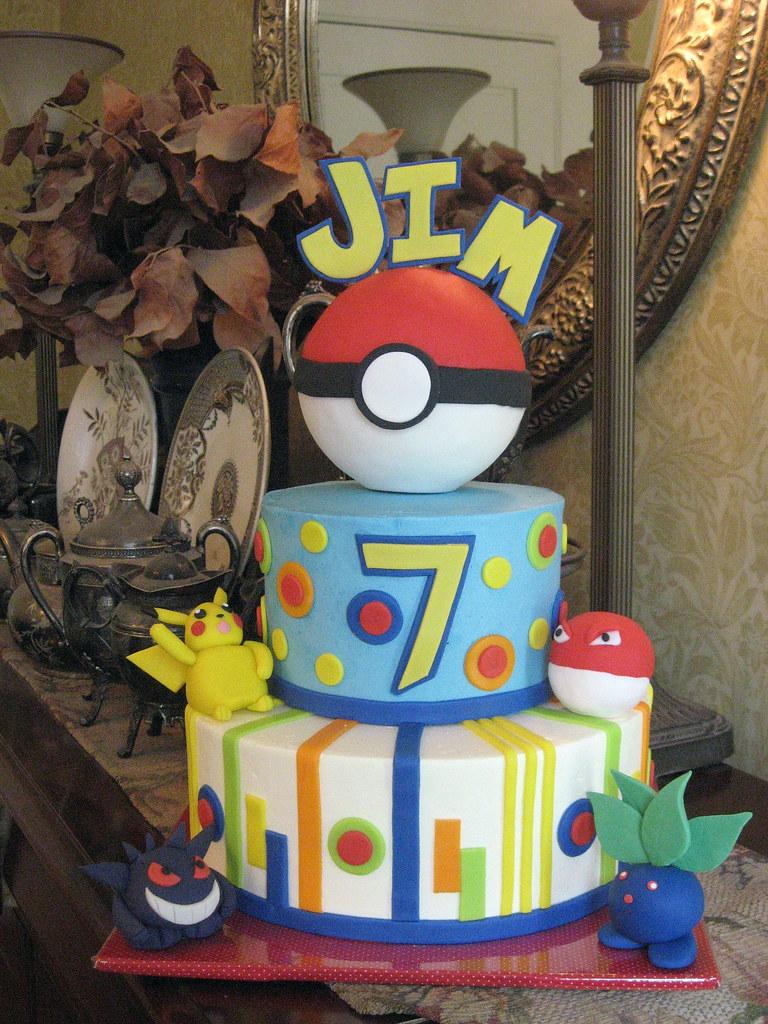 Pokemon Birthday Cake Pokemon Birthday Cake For My Son S