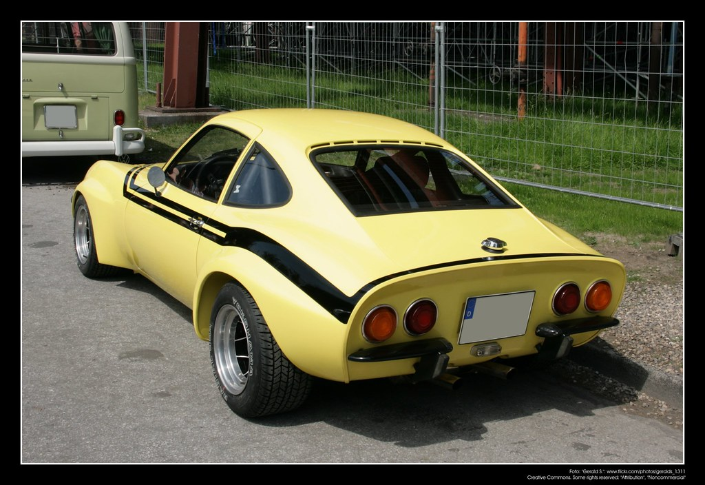 1970 Opel GT 01 The Opel GT Is A Two Seat Sports Car