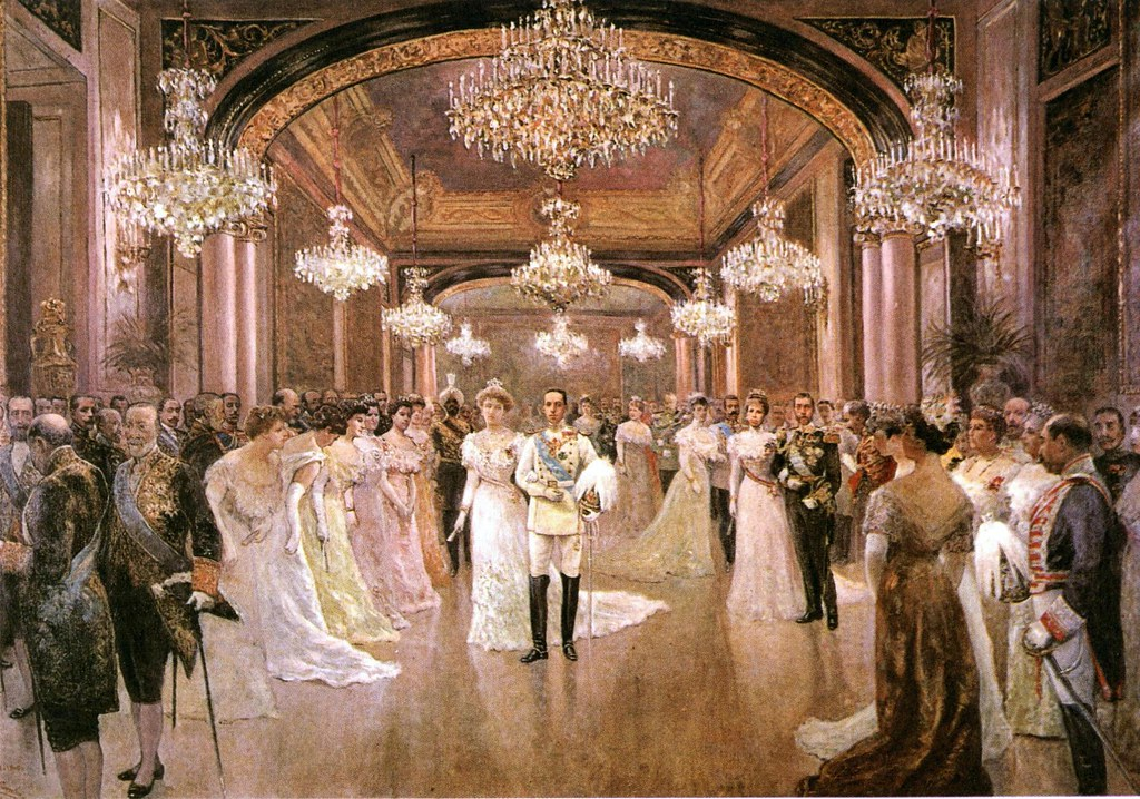 Alfonso Xiii And Victoria Eugenia Wedding Reception 1906 B Flickr