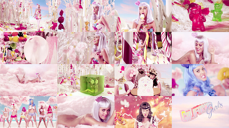 Katy perry california gurls compilation - 2 part 9