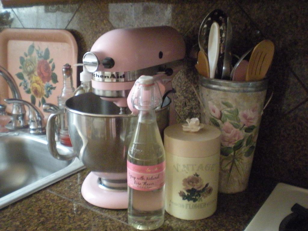 Pink Kitchen Aid Mixer Pink Kitchenaid Mixer Romanticvintage Home Flickr