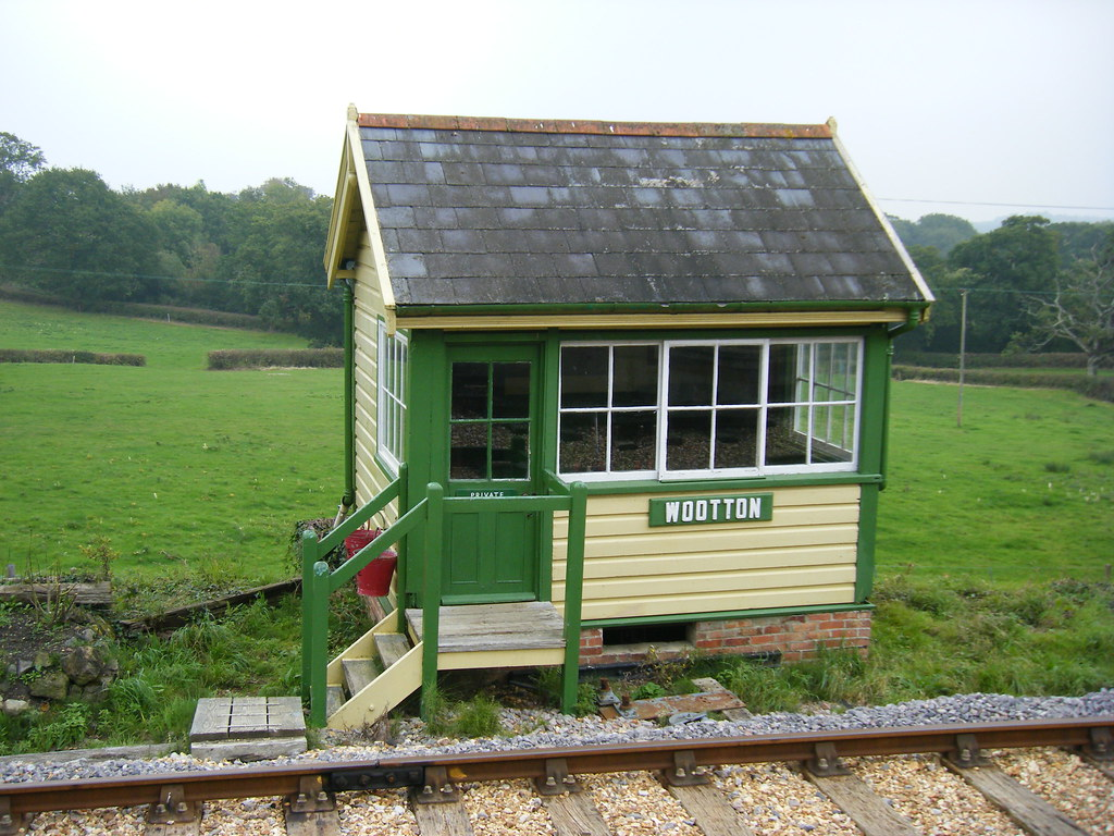 Wootton Signal Box Or Ground Frame Box To Be Johnzebedee