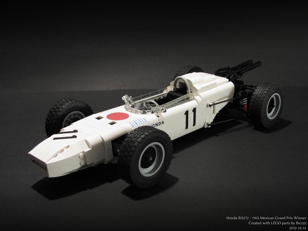 Build A Honda >> Honda RA272 | This is the Honda RA272. Driven by Richie Gint… | Flickr