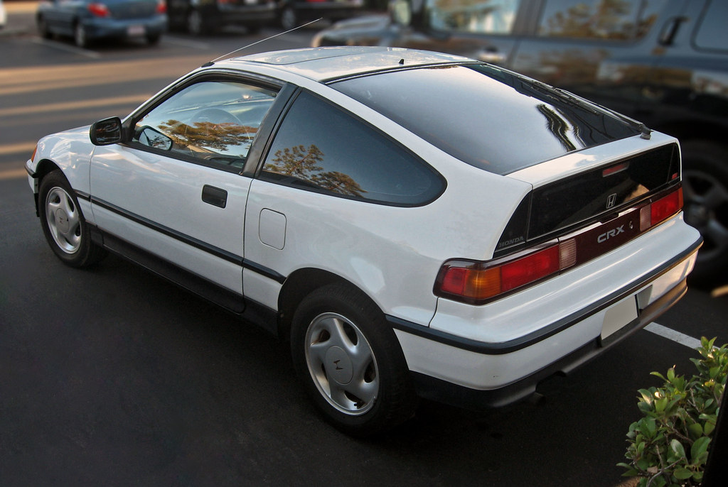 ... 1991 Honda Civic CRX Si Rear 3q | By Ate Up With Motor