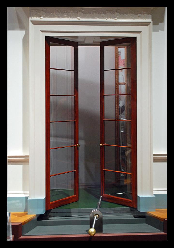 ... Double door model - Monticello museum | by sjb4photos & Double door model - Monticello museum | Photographed in the \u2026 | Flickr