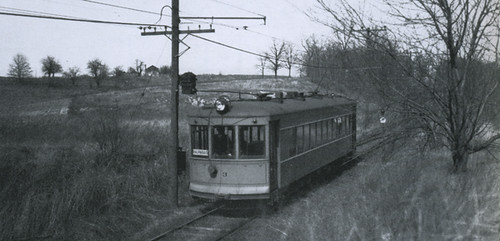 Gary Railways Interurban Line Valparaiso Division At Mil