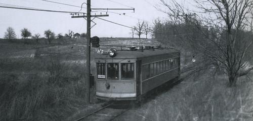 Gary Railways Interurban Line Valparaiso Division At Mil