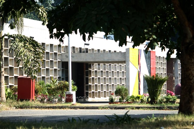a view of the chandigarh college of architecture | its the f… | flickr