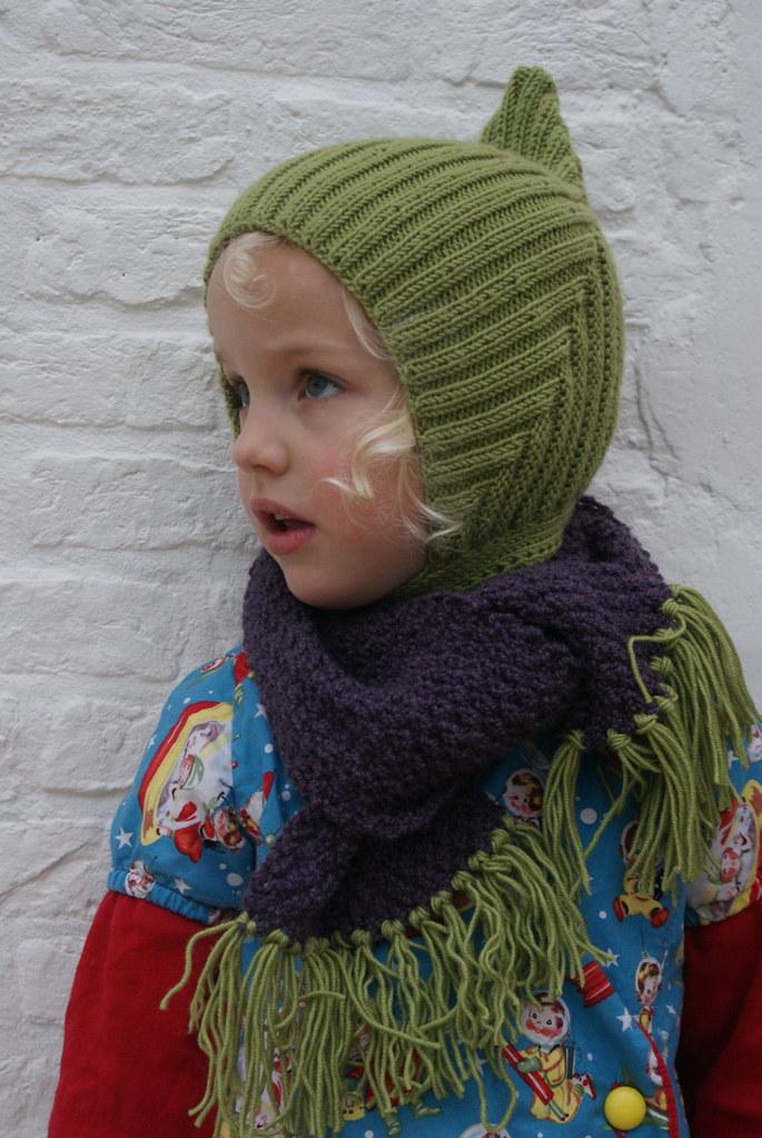 Stella Pixie hat | Free knitting pattern here: www.etsy.com/… | Flickr