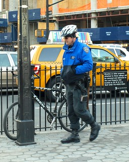 NYPD Bicycle Patrol Police Officer, Verdi Square, New York City | by jag9889