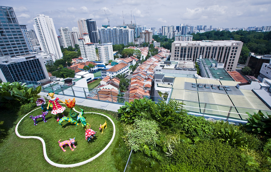 Singapore Orchard Central Rooftop Garden Hanks Lai