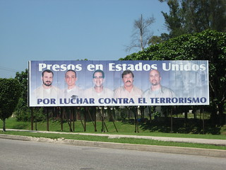 Political poster demanding the release of the Cuban Five | by J G Blanchard Lewis