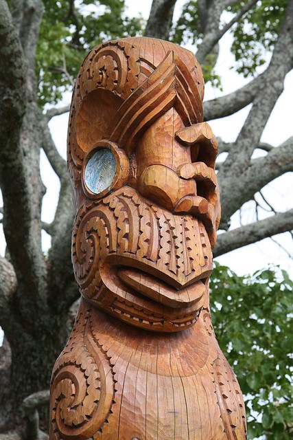 Maori art wood carving stephanieetstephane flickr