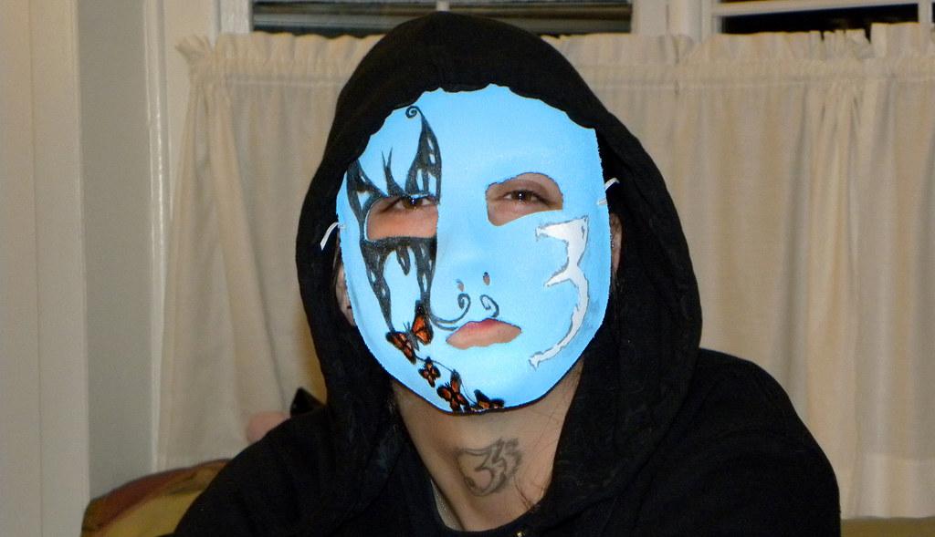 White Halloween Masks
