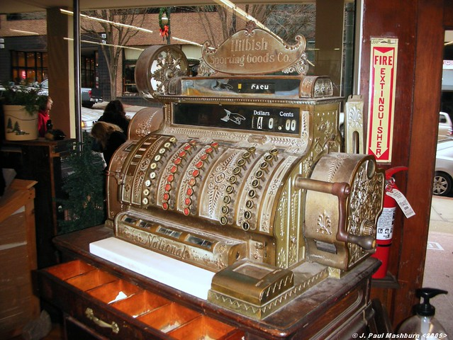 1920 S Brass National Cash Register This Brass 1920