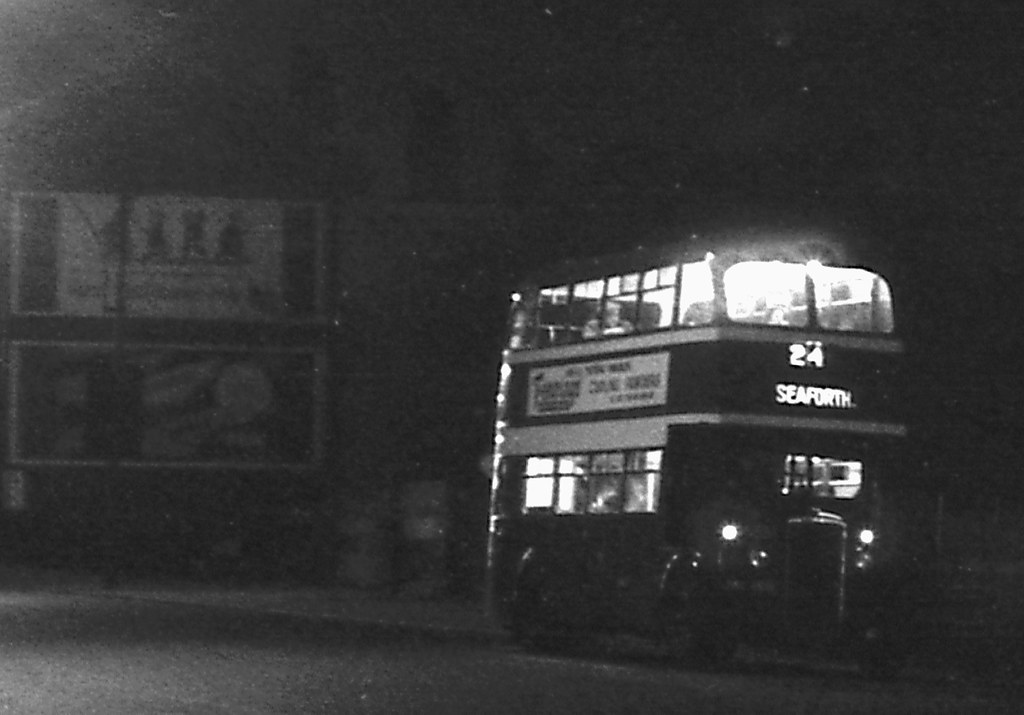liverpool corporation daimler  stanley rd  bootle 1955