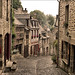 Old Street in Dinan (France)