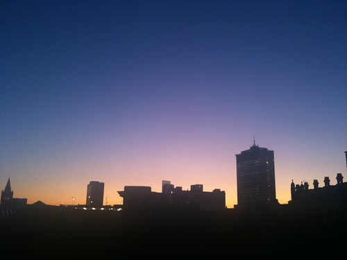 Manchester Skyline at Sunset | by mazpho.to