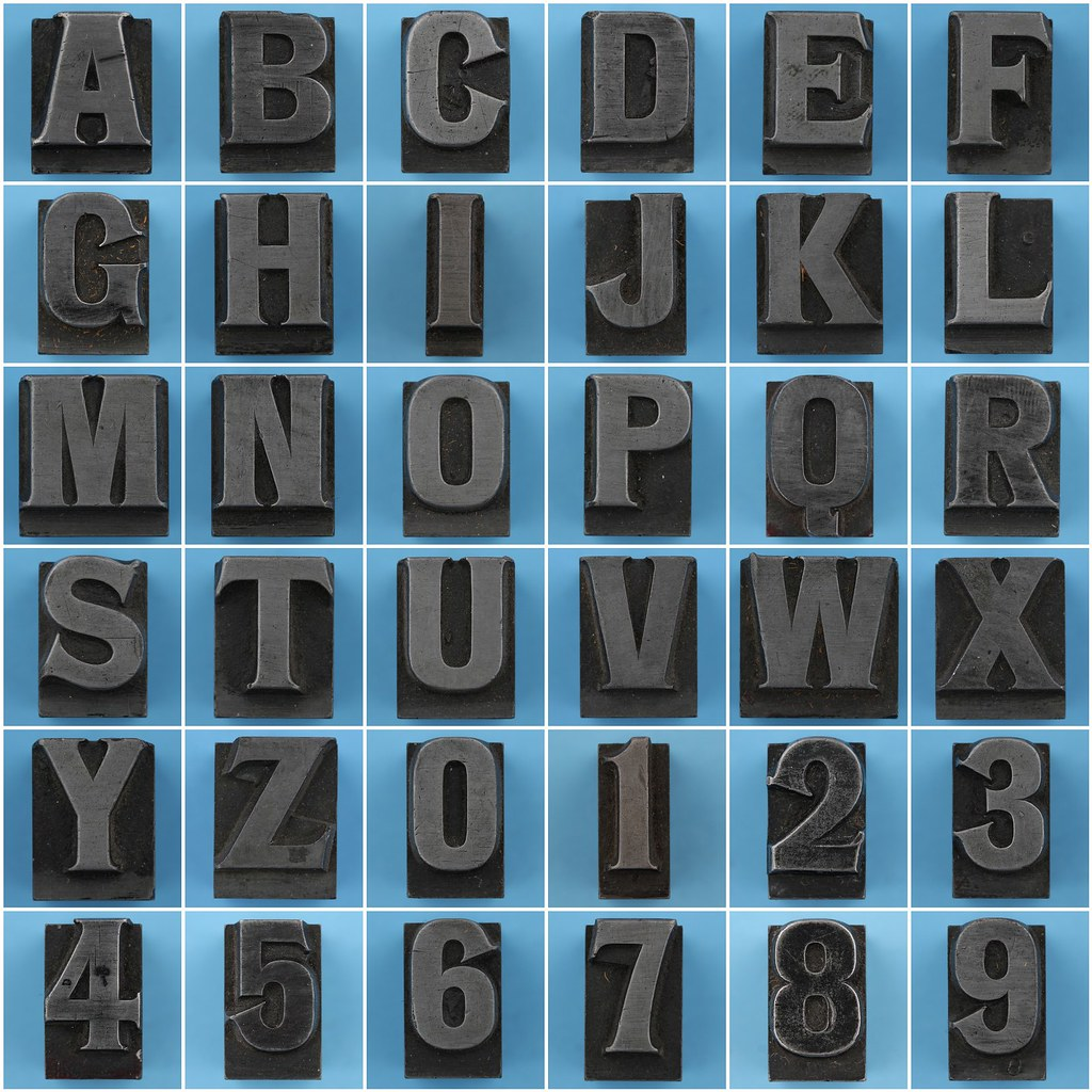 Metal Letters And Numbers Cool Metal Type Letters And Numbers  Runic Bold 48Pt  Leo Reynolds Inspiration Design