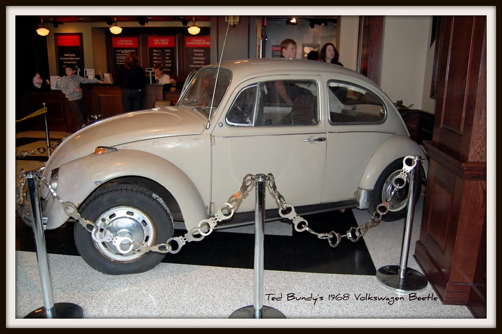Ted Bundy's 1968 Volkswagen Beetle | The ratty, rusted 1968 … | Flickr