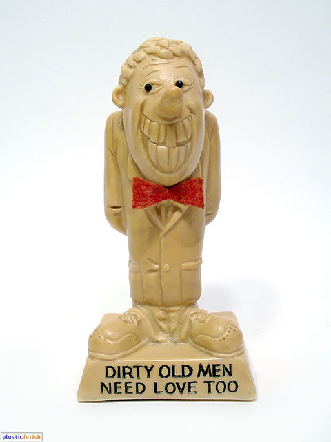 Image result for russ berrie statue dirty men